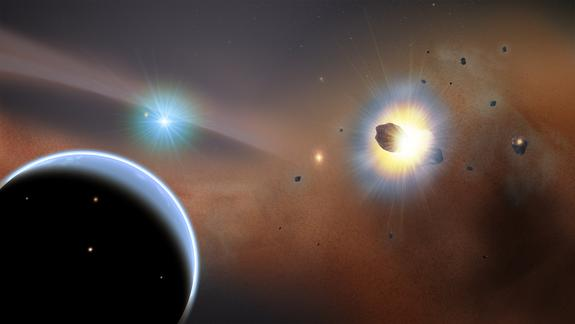 Alien Comet Swarms Hint at Mysterious Undiscovered Exoplanet (Video, Images)