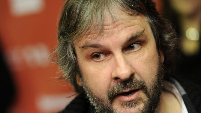 """FILE - In this Jan. 20, 2012 file photo, Peter Jackson is interviewed at the 2012 Sundance Film Festival in Park City, Utah. Jackson is tweaking the ending of Bilbo Baggins' journey. The director says the original title of """"The Hobbit"""" finale felt misplaced since Baggins arrived at his destination in the second film. """"There and Back Again"""" better suited a film that wrapped up a two-part story instead of a trilogy. So the final film based on the J.R.R. Tolkien fantasy adventure has being renamed """"The Hobbit: The Battle of the Five Armies."""" (AP Photo/Chris Pizzello, File)"""
