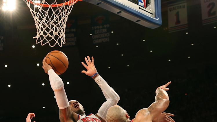 NBA: Chicago Bulls at New York Knicks
