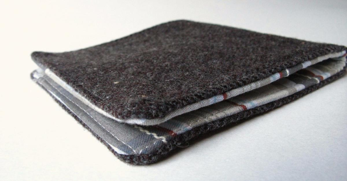 One of a kind Salmon Leather Wallets!