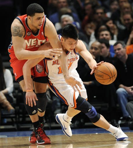 Lin's career night leads Knicks over Nets, 99-92