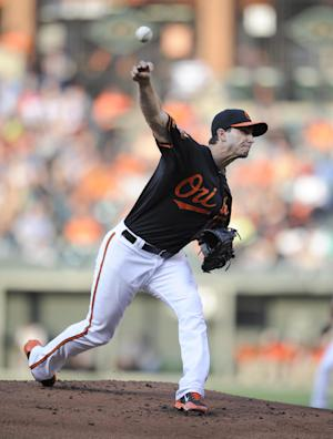 Orioles RHP Gonzalez sent to minors - temporarily
