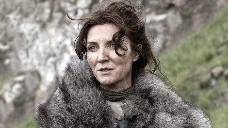 Michelle Fairly as Catelyn Stark, the role that sees her with a strong chance of winning the Outstanding Supporting Actress award at this years Emmys