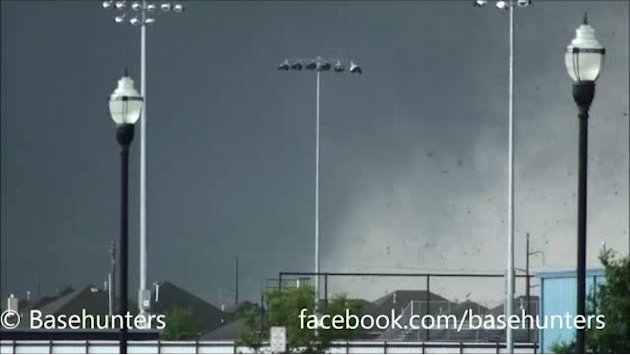 Oklahoma tornado as seen by …