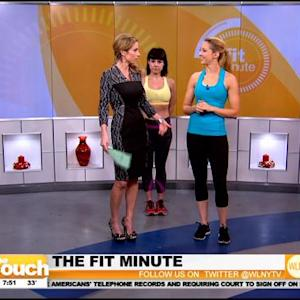 Fit Minute: Quick Moves To Do At Home