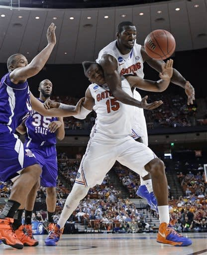 Florida beats Northwestern St 79-47 in NCAA opener