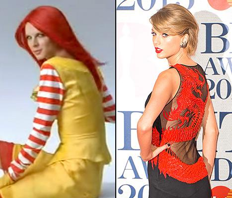 Taylor Swift Has a Secret Twin and She's a Japanese McDonald's Model: Watch the Commercial Here!