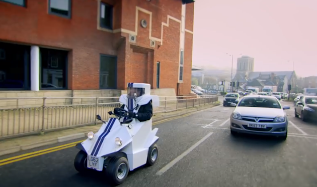top gear jeremy clarkson smallest car p45