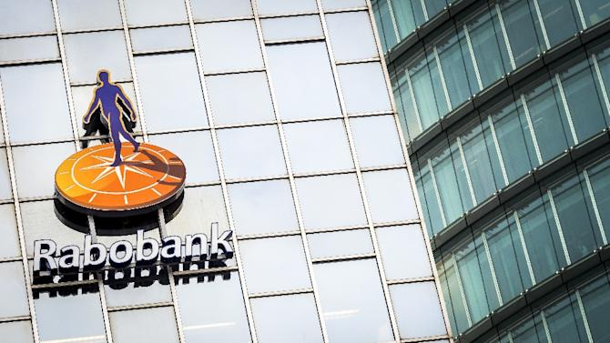 A picture shows the headquarters of Rabobank in Utrecht, Netherlands on January 27, 2014