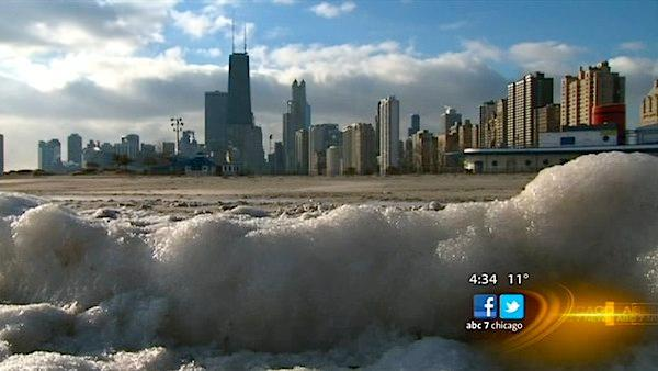 Dangerous wind chill temperatures hit Chicago