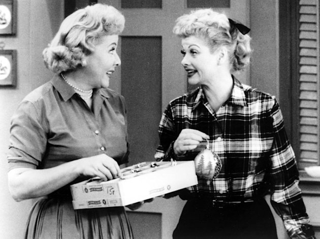 Lucy Ricardo and Ethel Mertz …