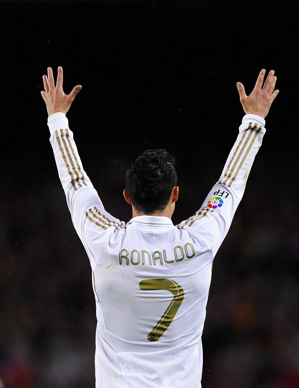 Cristiano Ronaldo Of Real Madrid CF Reacts Getty Images