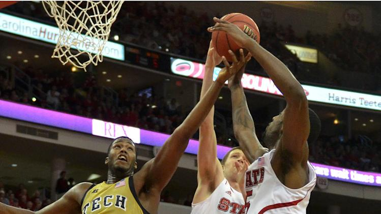 NCAA Basketball: Georgia Tech at North Carolina State