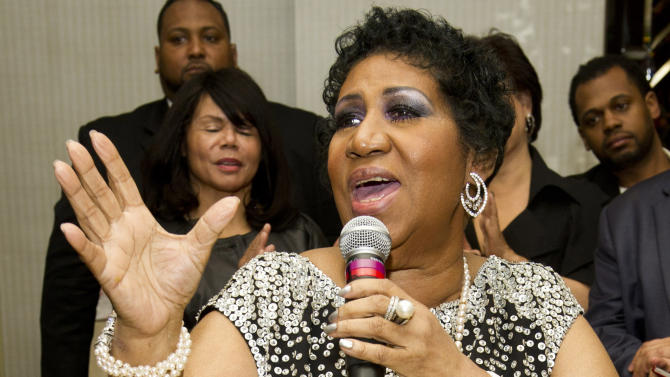 Aretha cancels hometown show citing treatment