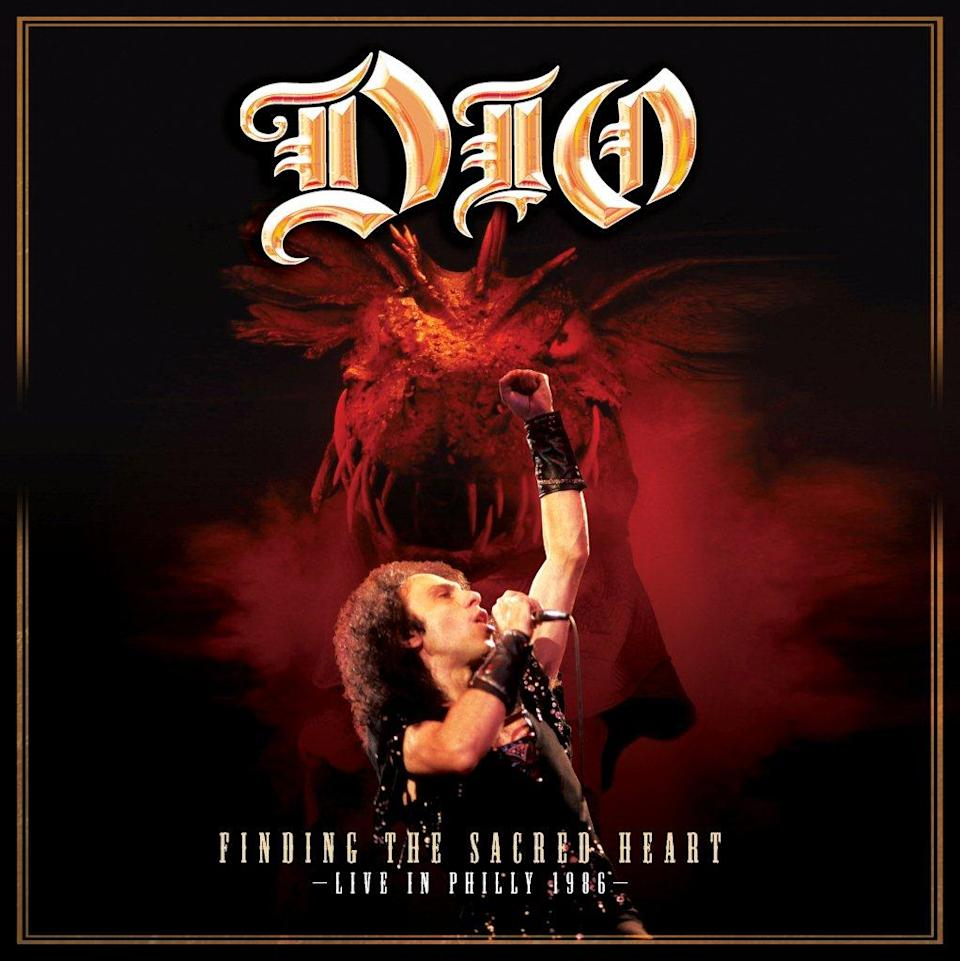 "This CD cover image released by Eagle Rock Entertainment shows ""Finding the Sacred Heart: Live in Philly 1986,"" by Dio. (AP Photo/Eagle Rock Entertainment)"
