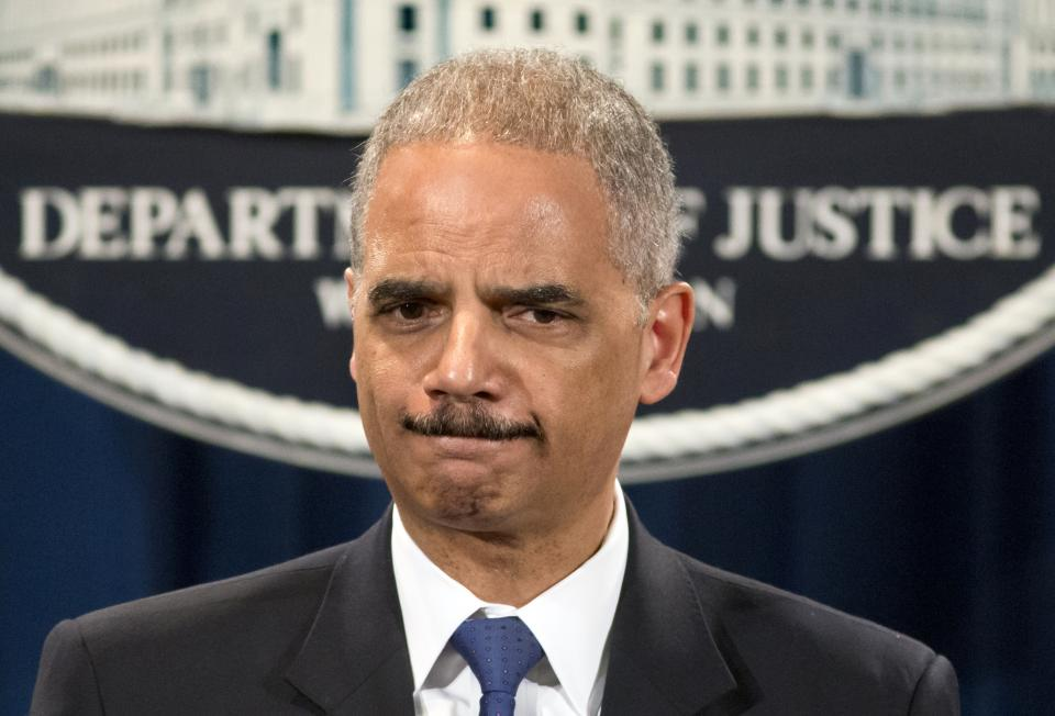 Holder says he played no role in AP phone subpoena