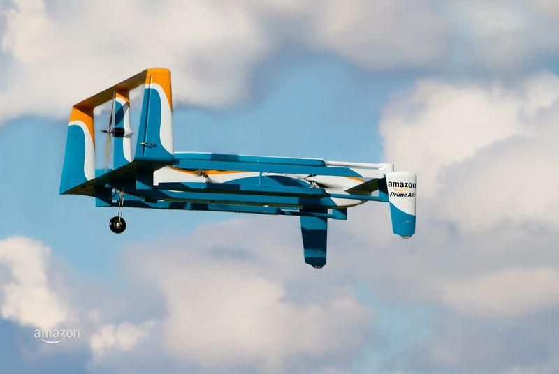 Amazon teases Prime Air delivery and 'a whole family' of drones in new ad with Jeremy Clarkson