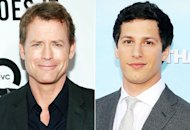 Greg Kinnear, Andy Samberg | Photo Credits: Charles Eshelman/FilmMagic, Valerie Macon/AFP/GettyImages