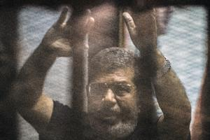 Egypt's deposed Islamist president Mohamed Morsi …