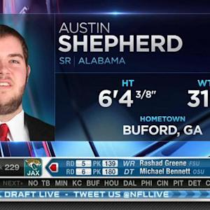 Minnesota Vikings pick tackle Austin Shepherd No. 228 in 2015 NFL Draft