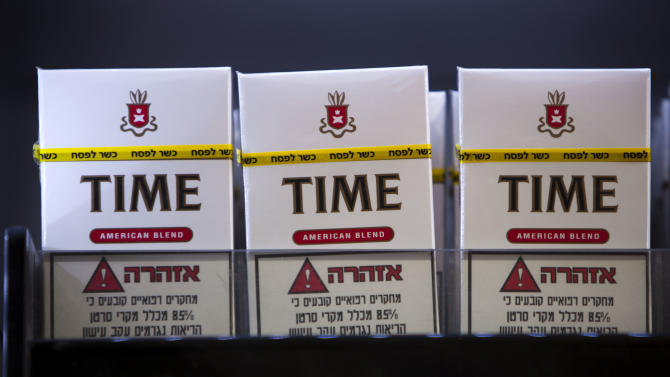 Israelis get kosher cigarettes for Passover