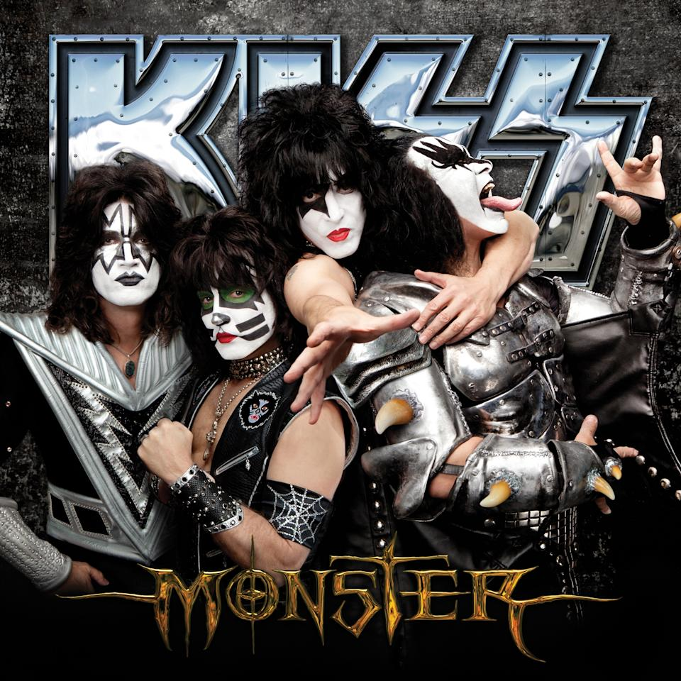 "This CD cover released by UMe shows the latest release by KISS, ""Monster."" (AP Photo/UMe)"