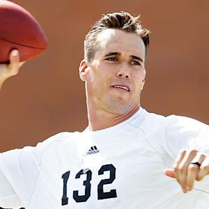 Veteran Combine highlight: Quarterback Brady Quinn