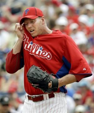 Phillies' Halladay makes final spring start