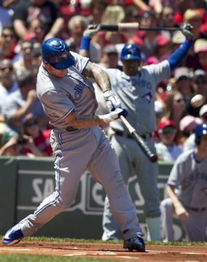 Blue Jays hammer Lester to sweep Red Sox, 15-7