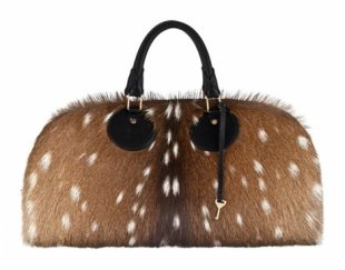 The Fall 2012 Proenza Schouler bags are made from fawns like Bambi