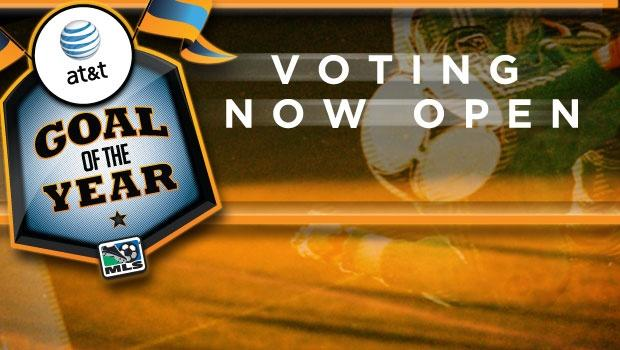 Vote now for the 2012 AT&T Goal of the Year winner!