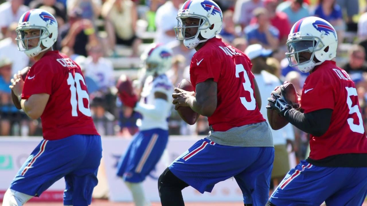 Rex Ryan causes confusion by starting EJ Manuel in preseason