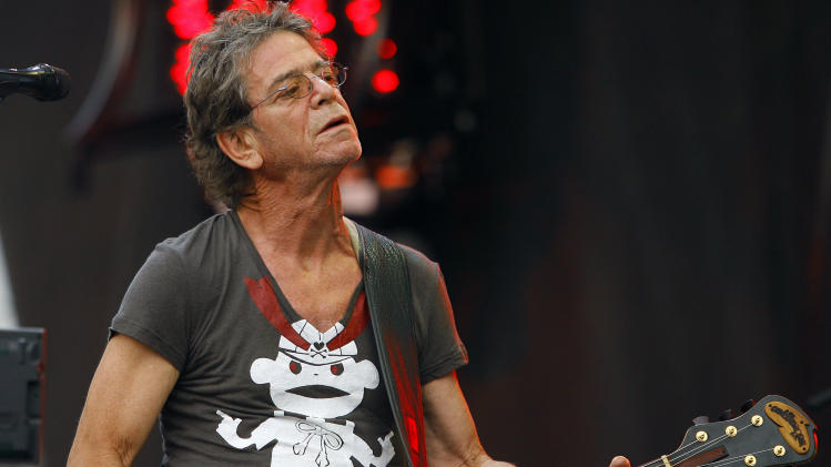 Lou Reed's will leaves estate to his wife, sister