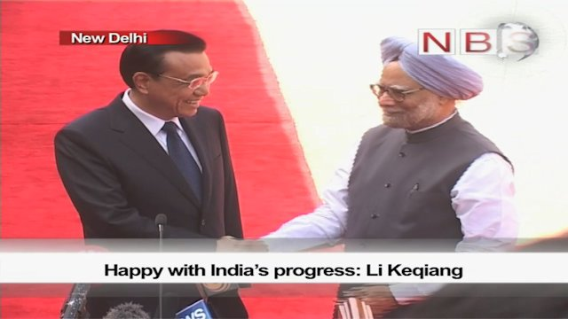 Happy with India's progress: Li Keqiang