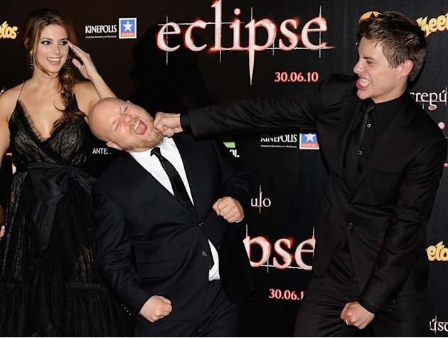 The Twilight Saga Eclipse International Press Events 2010 Ashley Greene David Slade Xavier Samuel