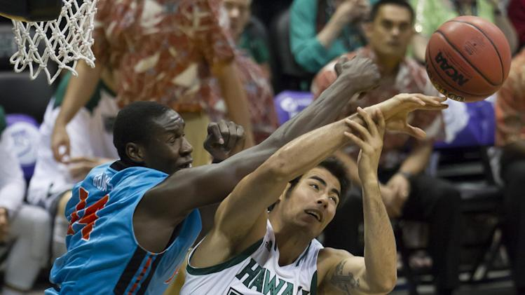 Hawaii takes 5th place; beats Oregon State 79-73