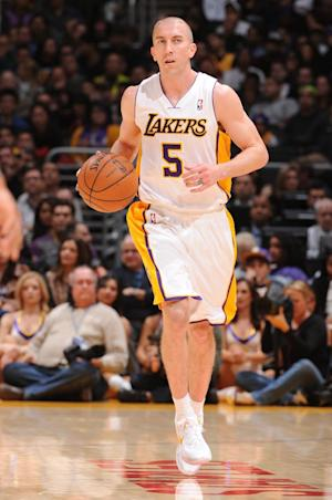 Lakers G Steve Blake out 6 weeks with elbow woes