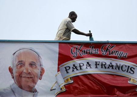 Pope heads to Africa hoping to bridge Christian-Muslim faultlines