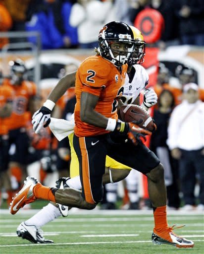 No. 13 Oregon State defeats Arizona State 36-26