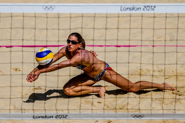 Beach volleyballers might cover up for Olympics