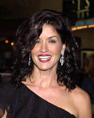 Premiere: Janice Dickinson at the Westwood premiere of MGM's Bandits - 10/4/2001