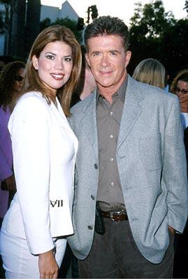 Alan Thicke with a galpal at the Hollywood premiere of Paramount's The Original Kings of Comedy