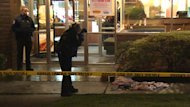 Police are investigating a stabbing at a Denny's restaurant in Vancouver on Friday afternoon.