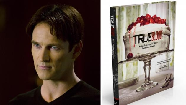 Bill Compton, the cover of the 'True Blood' cookbook -- HBO