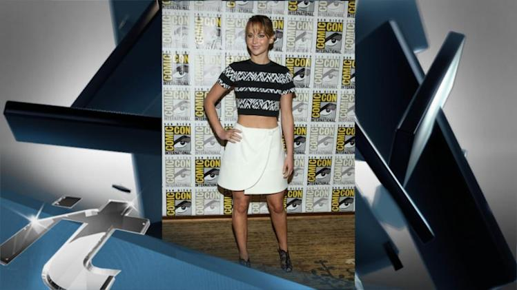 Jennifer Lawrence News Pop: Hunger Games Releases NEW Trailer For Catching Fire At Comic-Con!