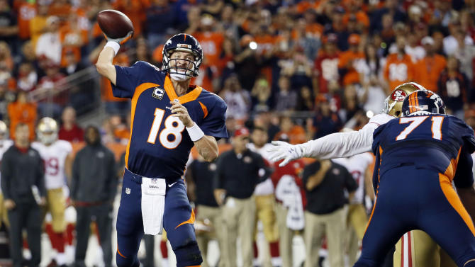 Manning has a lot to consider as he ponders his future