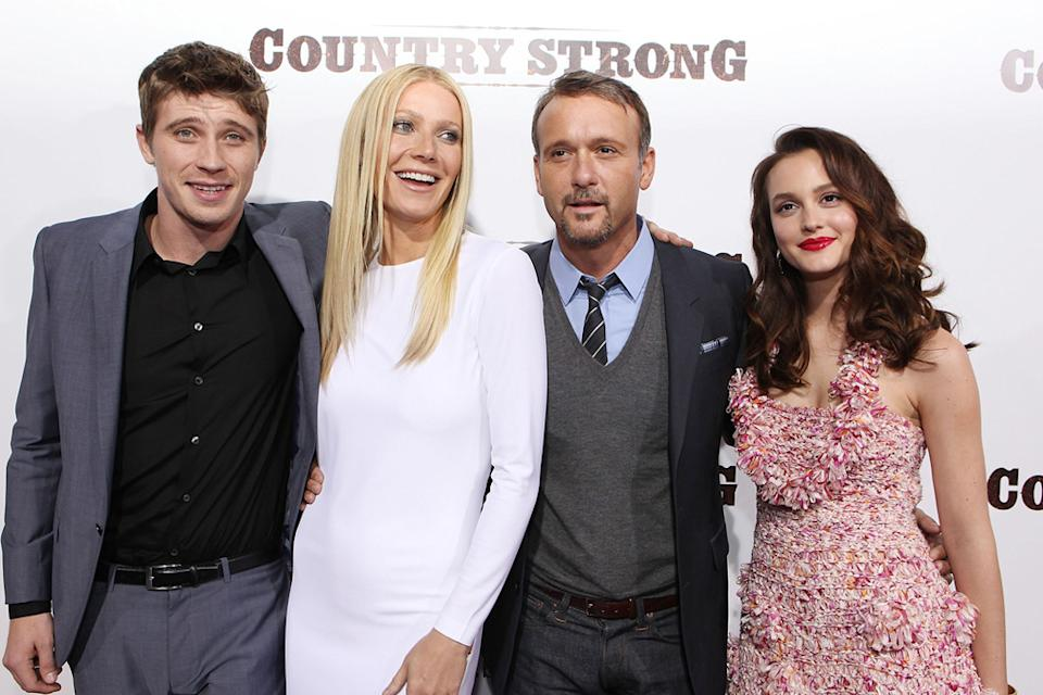 Country Strong LA Premiere 2010 Garrett Hedlund Gwyneth Paltrow Tim McGraw Leighton Meester
