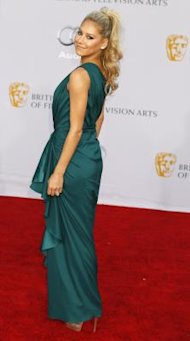 Former professional tennis player Anna Kournikova arrives at the BAFTA Brits to Watch event in Los Angeles