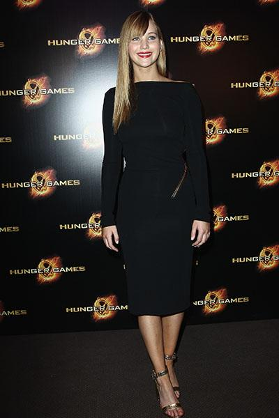 "The Paris premiere of ""The Hunger Games"""
