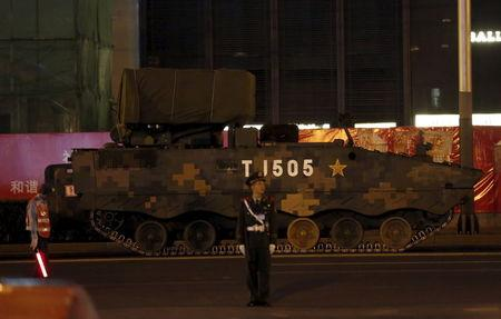 China to put on huge show of force for World War Two anniversary
